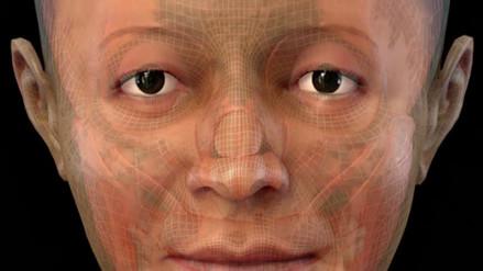 Así era el rostro de la 'Dama de los Cuatro Tupus' de Caral
