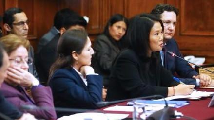 Keiko Fujimori no supo responder quién es el tesorero de Fuerza Popular