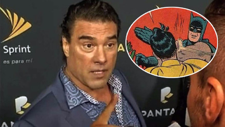 Agresión de Eduardo Yáñez a reportero desata memes en Twitter