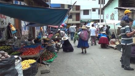 Cajamarca: piden reubicación de comerciantes del jirón Leguía