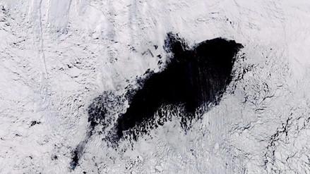 Aparece un agujero en la Antártida del tamaño de Panamá