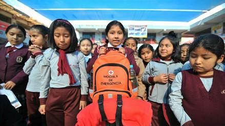 Más de 360 mil escolares participaron en simulacro de sismo en Arequipa