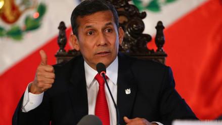 Ollanta Humala no recibirá a la Comisión de Fiscalización en la Diroes