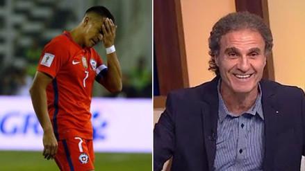 YouTube | Óscar Ruggeri se burló de la eliminación de la Selección de Chile
