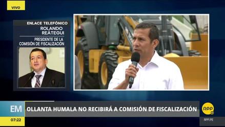 """Reátegui: """"Humala tiene que recibirnos, así no quiera responder"""""""