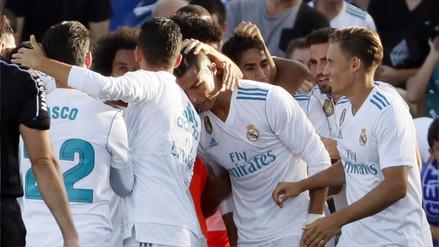 Real Madrid venció al Getafe con un gol salvador de Cristiano Ronaldo