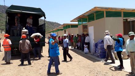 Mejoran condiciones de vida de damnificados por las lluvias de Salas