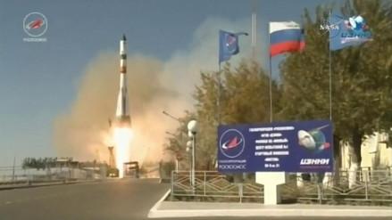 El carguero ruso Progress MS-07 despegó rumbo a la Estación Espacial