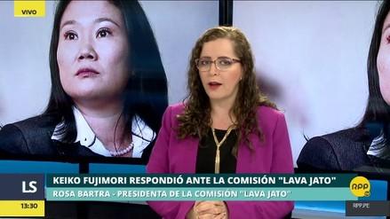 """Bartra sobre Keiko Fujimori: """"Yo no pongo las manos al fuego por nadie"""""""