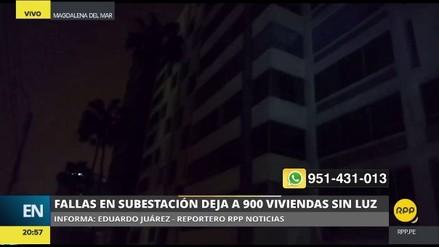 Al menos 900 casas afectadas por un apagón en Magdalena