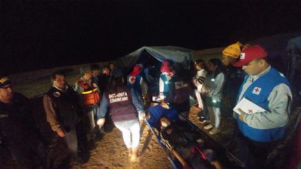 Población y autoridades participaron activamente de simulacro de sismo