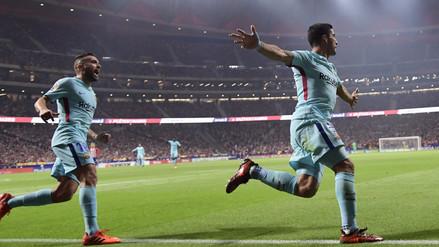 Barcelona empató 1-1 con Atlético de Madrid con un gol agónico de Luis Suárez