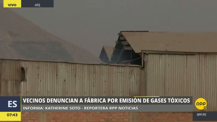 Vecinos de Santa Clara piden el cierre de una fábrica que emite gases tóxicos