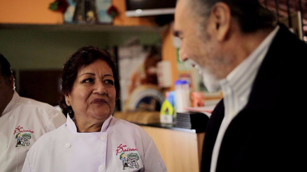 "Sebastiana Córdova: ""Aprendí a cocinar viendo a mi familia"