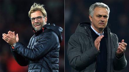 Jürgen Klopp ironizó sobre el juego del Manchester United de Mourinho