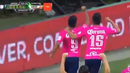 Raúl Ruidíaz anotó de penal en victoria de Monarcas Morelia ante Chivas