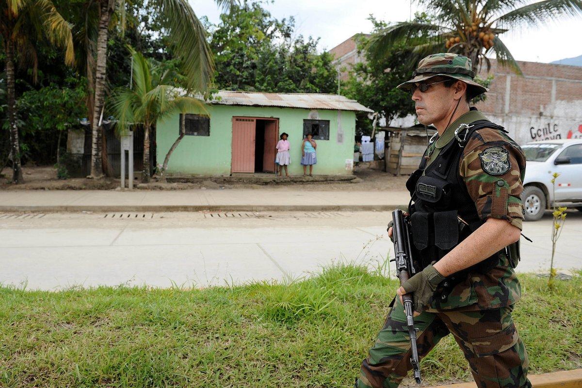 Cuatro terroristas fueron abatidos en el Vraem tras operación del Ejército y de la Policía