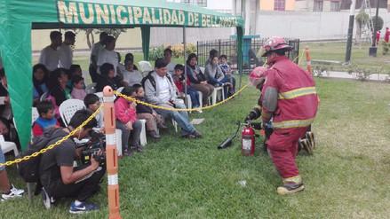 Cientos de personas fueron bomberos por un día en Bellavista