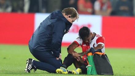 El Feyenoord de Holanda confirmó la lesión que sufrió Renato Tapia