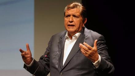 Alan García confirmó que acudirá a la Comisión Lava Jato del Congreso