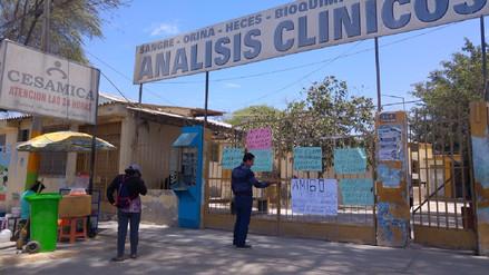 Centro de Salud de Castilla - Cesamica paraliza labores por 48 horas