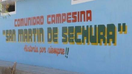 Comuneros de Sechura marcharon por titulación de sus terrenos