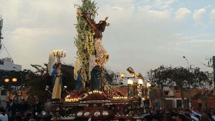 Señor de Luren de Ica inicia tradicional recorrido procesional