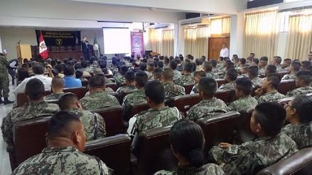 INPE capacita a soldados de la Séptima Brigada del Ejército de Lambayeque