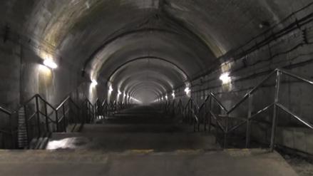 El inquietante recorrido a la estación de tren más profunda del mundo