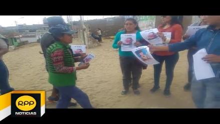 Trujillo: familiares continúan la búsqueda de joven embarazada