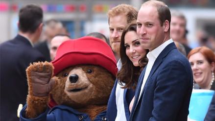 Fotos | Príncipes William y Harry recibieron al oso peruano 'Paddington'