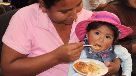 4 de cada 10 niños entre los 6 y 35 meses padece de anemia en el Perú