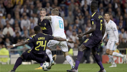 Real Madrid empató 1-1 contra Tottenham en el Estadio Santiago Bernabéu