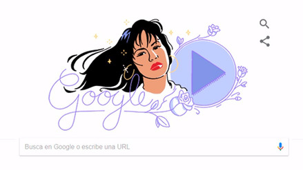 Selena Quintanilla: Google le rinde homenaje con doodle