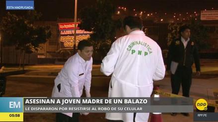 Matan a una mujer por resistirse al robo de su celular en Chorrillos