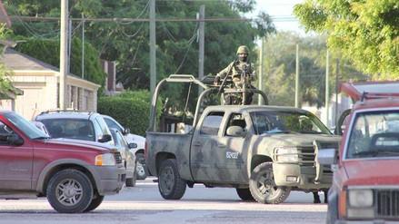 Ocho muertos en enfrentamientos entre militares y sicarios en México