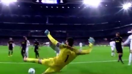 La increíble atajada de Hugo Lloris que evitó el tanto de Karim Benzema