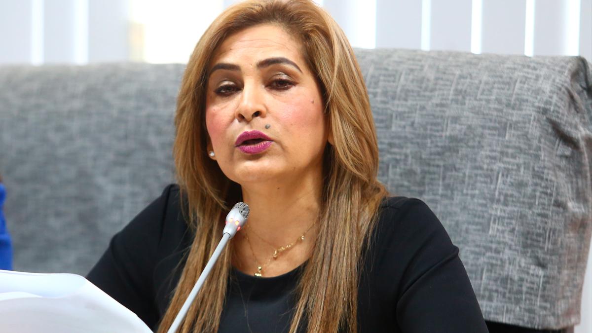 Maritza García renunció a la presidencia de la Comisión de la Mujer del Congreso