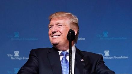 Trump genera controversia tras la llamada a la viuda de un militar estadounidense