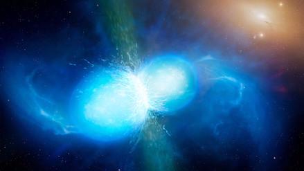 La colisión de dos estrellas de neutrones confirmó una teoría de Albert Einstein