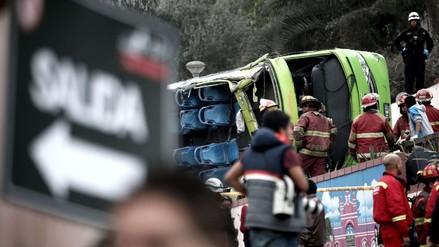 472 personas murieron por accidentes de tránsito en Lima en el 2016