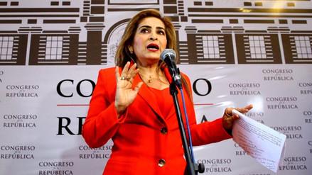 Maritza García se negó a dejar comisión de la Mujer en reunión de Fuerza Popular