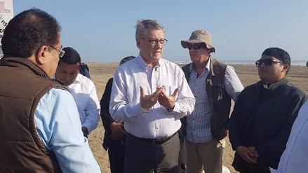 Huanchaco: Ministro inspecciona rutas que recorrerá el papa Francisco