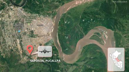 Once heridos tras accidente de avioneta en Ucayali