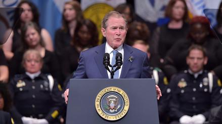 Bush arremete contra Trump: