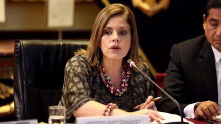 Mercedes Aráoz: Economía peruana crecerá 4.2% el 2018
