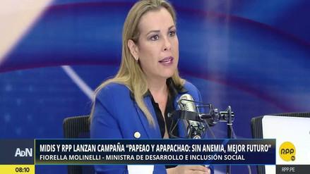 """Fiorella Molinelli: """"La anemia es invisible e irreparable, todos debemos actuar"""""""