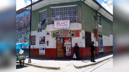 Tarma: delincuentes disparan a propietario de comercio durante asalto