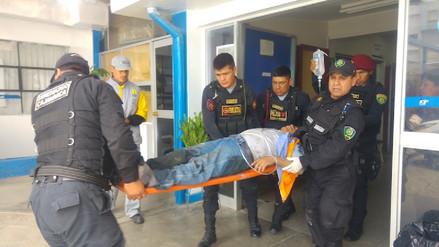 Trabajadores sufrieron asfixia cuando limpiaban red de desagüe en Cajamarca