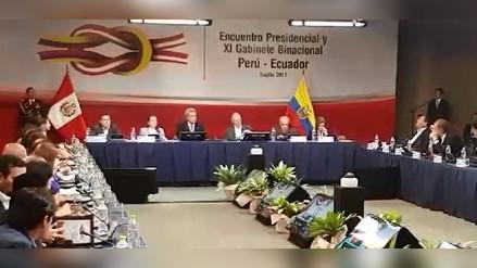Perú y Ecuador firman Declaración Presidencial de Trujillo
